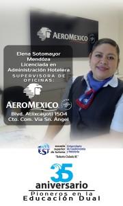 Pendon Elena AeroMexico