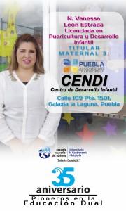 Pendon Vanessa León CENDI